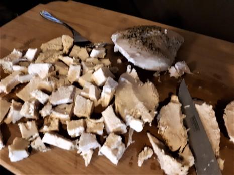 marinara chicken and pasta